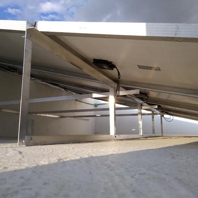 Bases de paneles solares