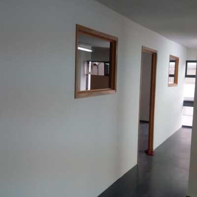 Muro tablaroca, puerta y ventana 2