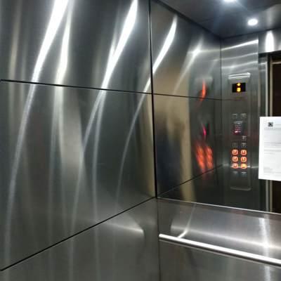 Cabina de elevador remodelada