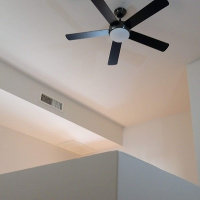 Instalacion de ventiladores de techo