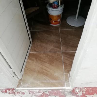 Terminando piso