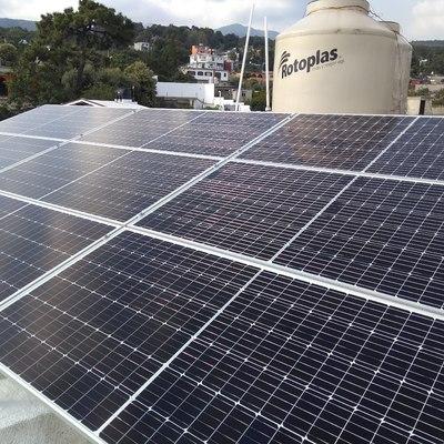 Paneles Solares en  Santa María Ahuacatitlan