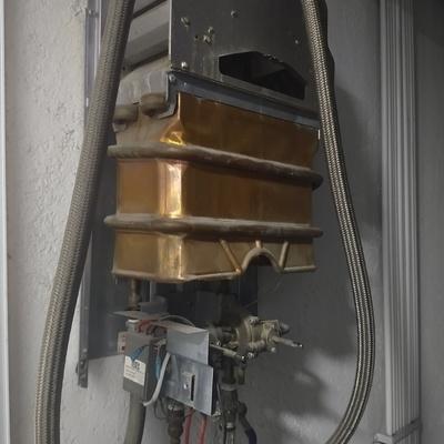 Reparación de calentador de paso