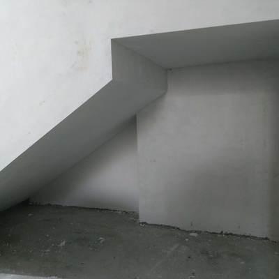 Area terminada, cuidado hasta de las áreas que no se ven dándole vista y simetría.