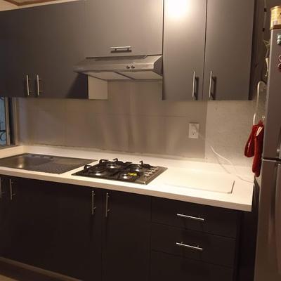 diseño cocina gris oxford