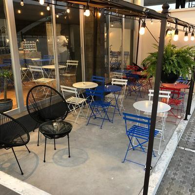 Terraza Cafetería Ambientación