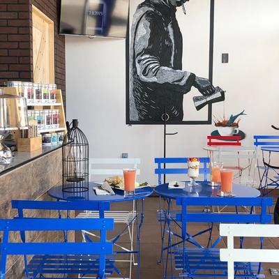Interior Local Comercial Cafeteria
