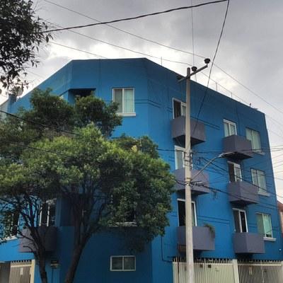 Pintando edificos en todo CDMX