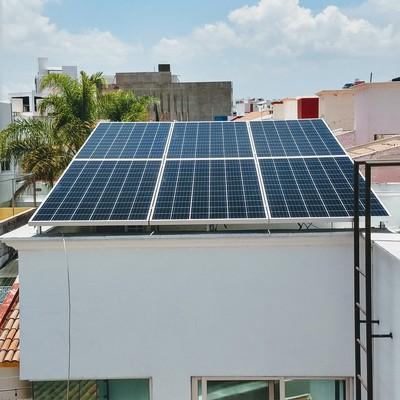 Sistema fotovoltaico de 2.4Kwp