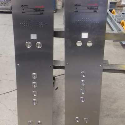 Instalación de componentes de ascensor