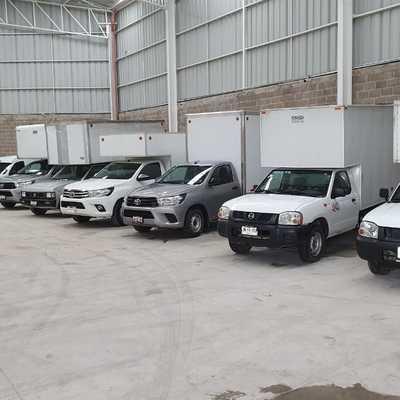 Camionetas caja seca 1.5 toneladas
