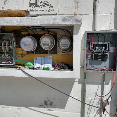 Centro de distribución eléctrica