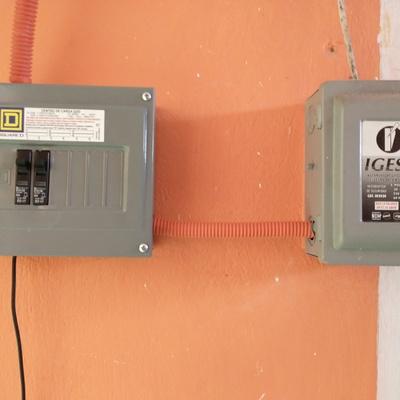 Colocación de centro de carga Qo 6 para protección de cada cuarto