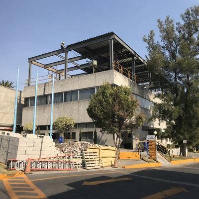 Ampliación de Edificio Con Estructura de Acero.