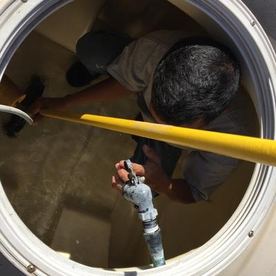 lavado de tinaco