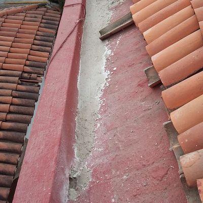 correccion de pendiente de bajada pluvial