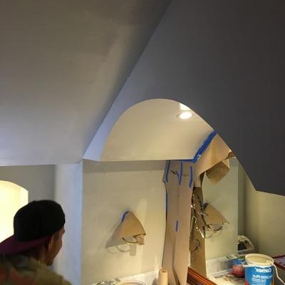 pintura en baños