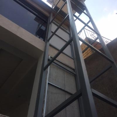 Estructura de elevador