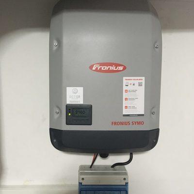 Inversor Fronius Symo 10kW en sistema FV