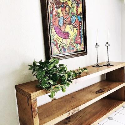 Bufetero de madera