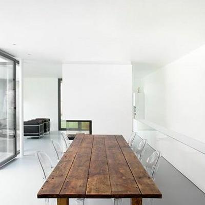 Interiores minimalistas.