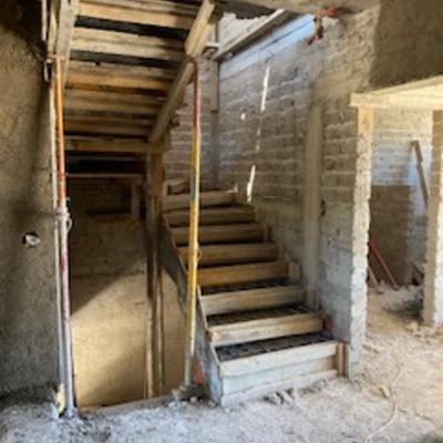 cimbra para escaleras