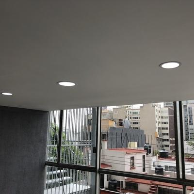 Luminarias Led y falso Plafon