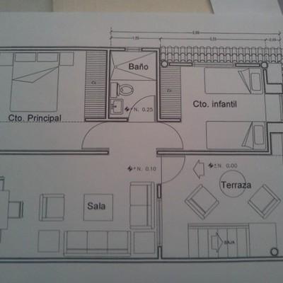remodelacion y ampliacionde recamara infantil y  terraza