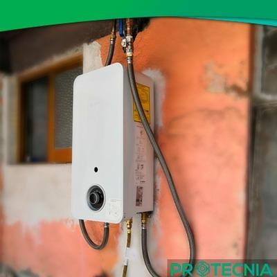 Instalación de Calentador de paso marca Bosch modelo Balanz 7