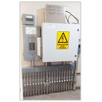 Colocación de tableros eléctricos