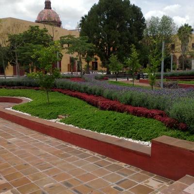 Jardineras, en el Huerto de SRV