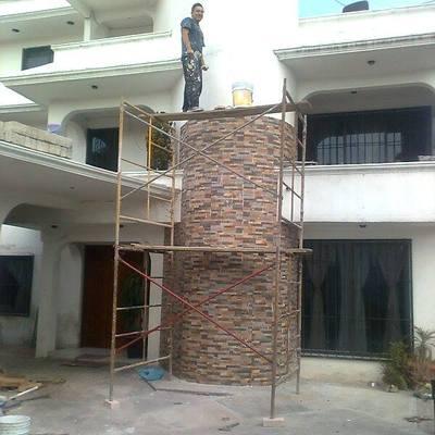 la casa del diseñador  de remodelaciones coroy