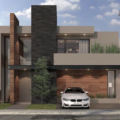 Fachada Casa La Vista 9