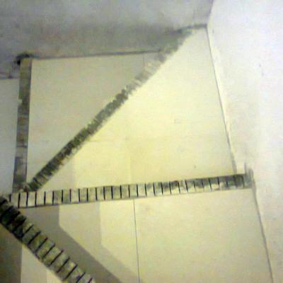 Loseta Ceramica en escaleras