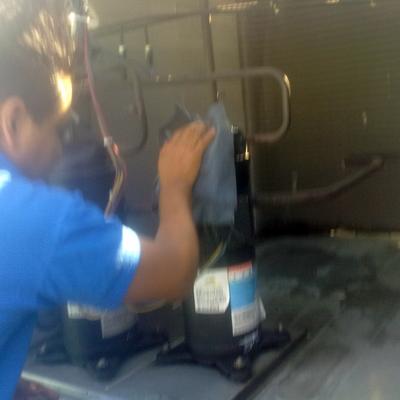 mantenimiento a unidad paquete 7.5 ton