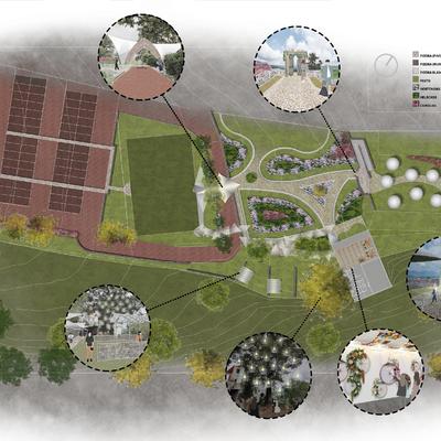 """Masterplan Jardín de Bodas """"El Papalote"""""""