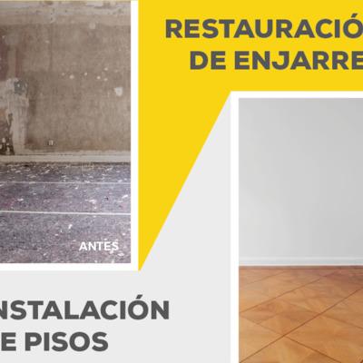 Instalación de Pisos y Restauración de Enjarres