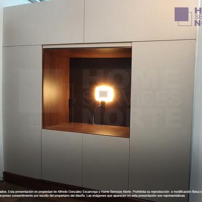 Módulo integral multifunción para sala de TV