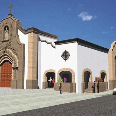 Remodelación Parroquia de San Agustín (Mexicali, B.C.)