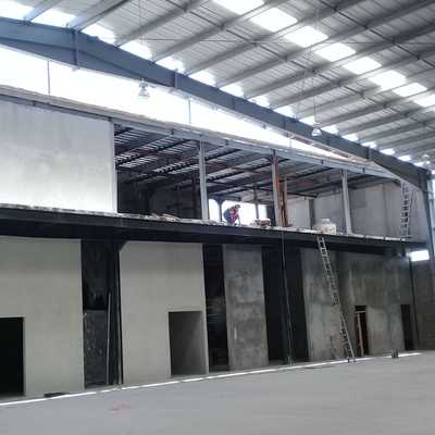 Interior Nave Industrial 8500 m2