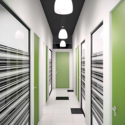 Oficinas - Diseño de interiores e infografía