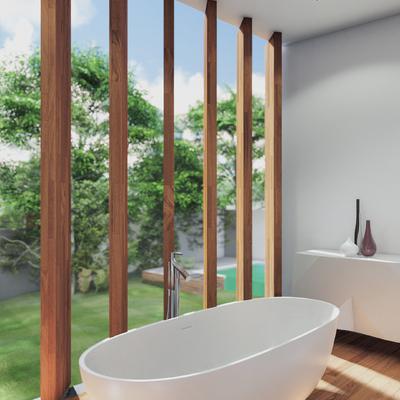Baño residencial de lujo