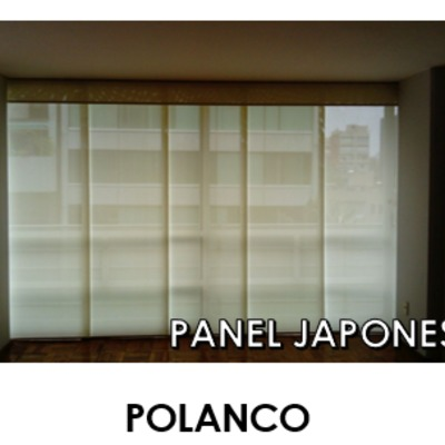 Persiana Tipo Panel Japones