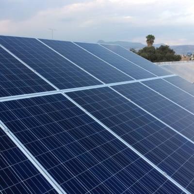Panel Solar - El César