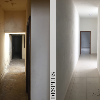 Pasillo - Remodelación Quintana Roo 476