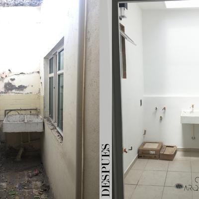 Patio - Remodelación Quintana Roo 476
