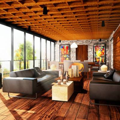 Penthouse residencial lomas verdes