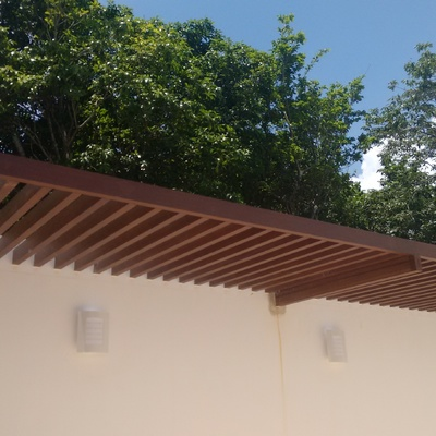 PERGOLA DE CASA NASAO BAHIA PRINCIPE