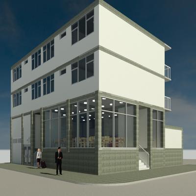 Diseño arquitectónico Edificio