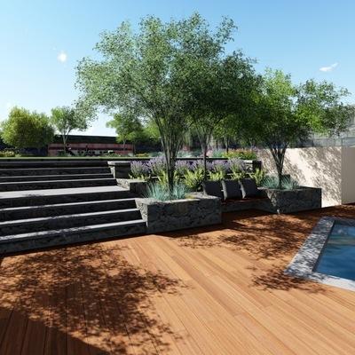 Imagen de Referencia  para jardín en casa habitación